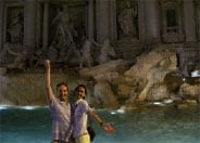 italian tourism trevi fountatin