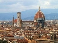florence vacation duomo aerial view