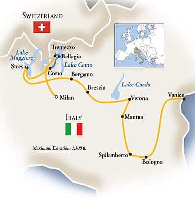 italian lakes italy luxury tour
