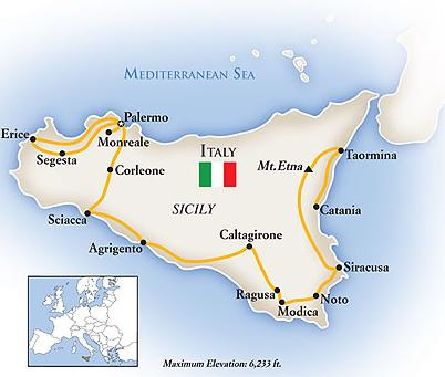 map-luxury-sicily-tours-package
