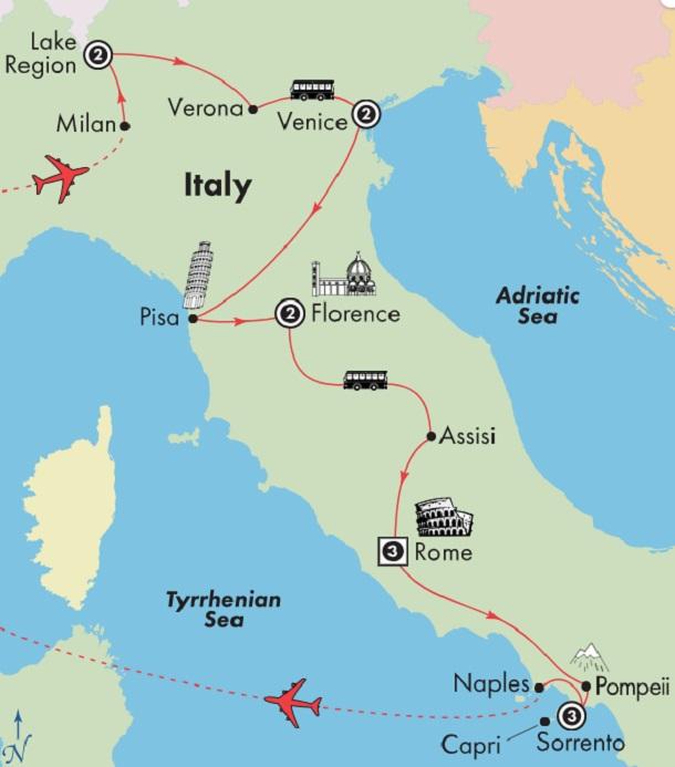 italian-lakes-venice-florence-rome-amalfi-coast-tour