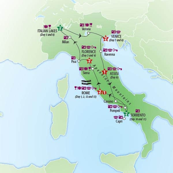 map-italy-tour-package-amalfi-capri-lakes-milan-venice-rome