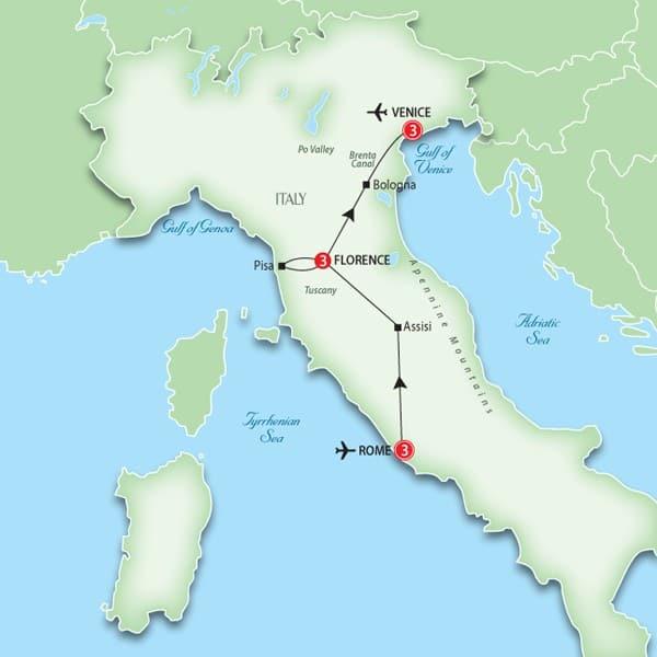 italytour venice florence rome