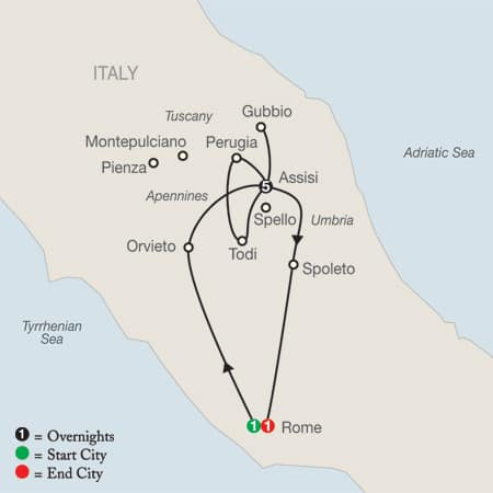 Tuscany And Umbria Tours Package Italy Vacation Packages