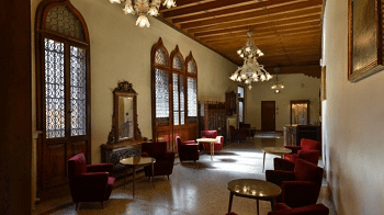 hall hotel Gabrielli Venice