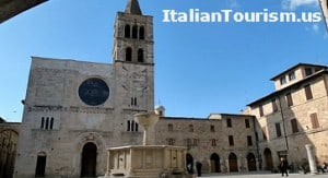 Umbria Bevagna Italy tour package centro