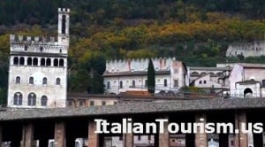 Umbria Gubbio Italy tour package view of the city