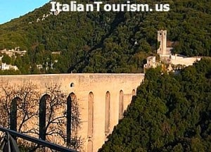 Umbria Spoleto Italy tour package view