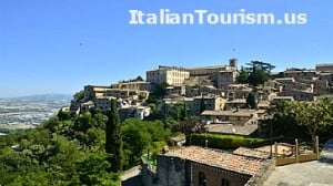 Umbria Todi Italy tour package view
