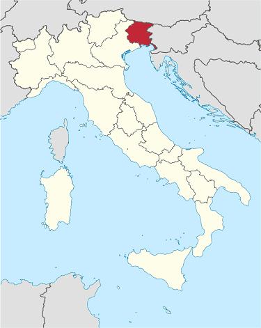 friuli venezia giulia sightseeing map