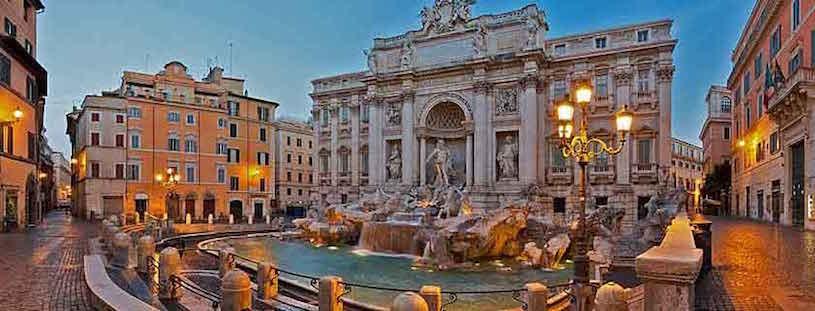 lazio sightseeing rome trevi fountain