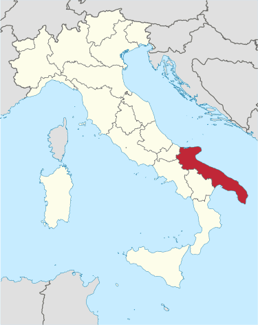 italy map puglia region