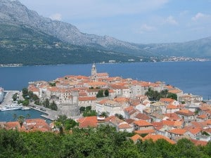 dalmatian coast cruise korcula