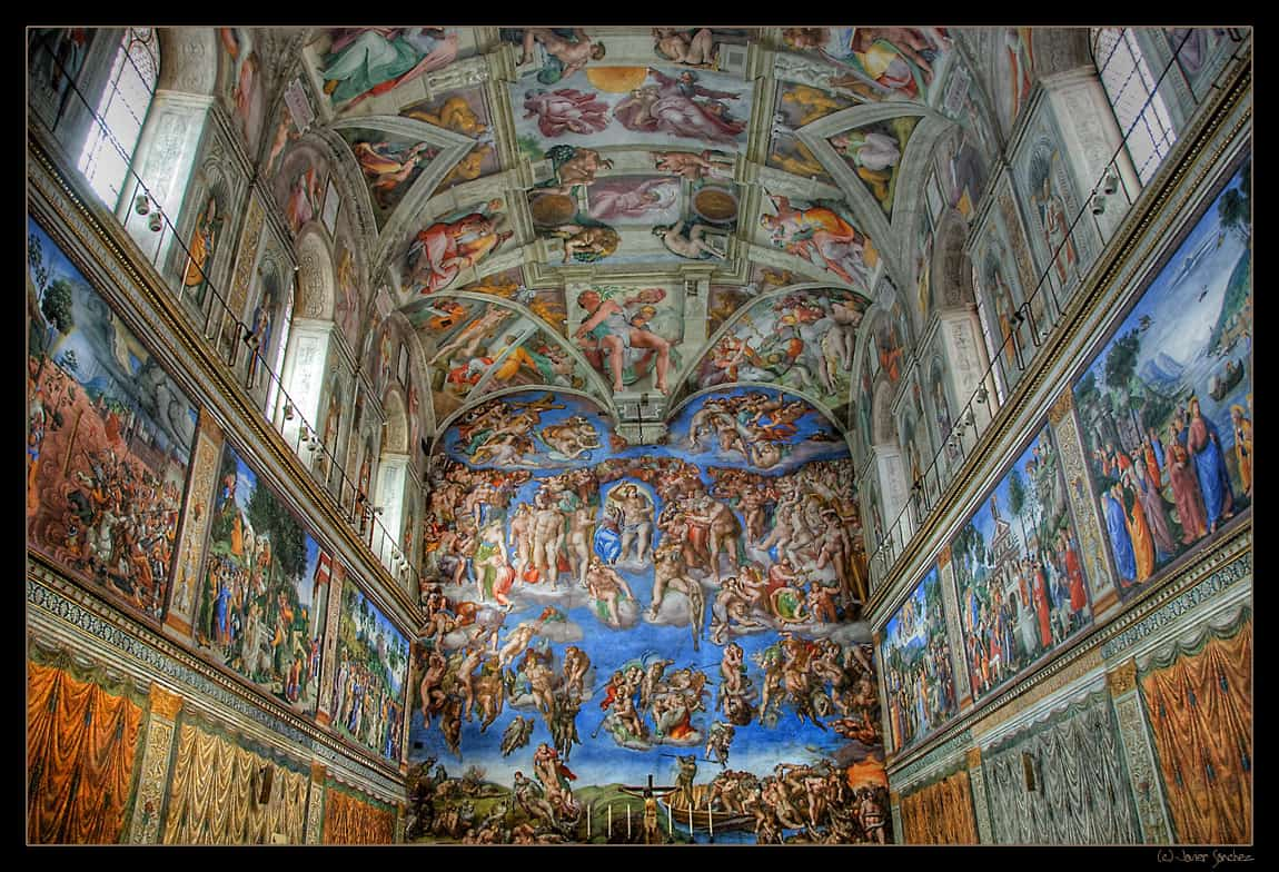 Sistine chapel tickets rome sightseeing highlights for Mejores pinturas de interior