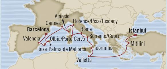 Luxury Cruises Around Italy 2014 Sale Free Air