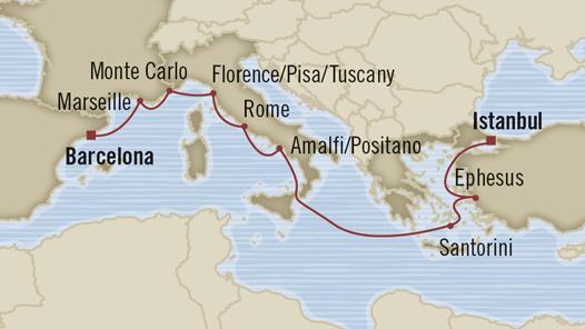 Luxury Cruises Around Italy Sale Free Air Gratuities Cash - Italy cruises
