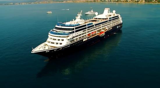 azamara rome venice ship at sea