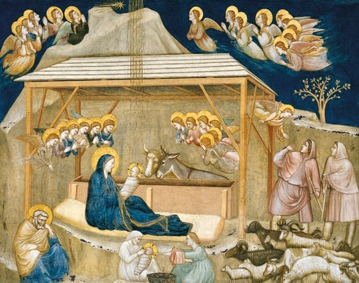 christmas nativity scene giotto assis christmas vacation