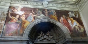 Raphael frescoe santa maria della pace