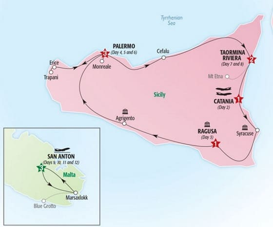Malta and Sicily Tour Package | ItalianTourism.us