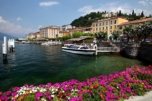 Italy lake Como Bellagio