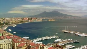 Naples Bay with Mt Vesuvius