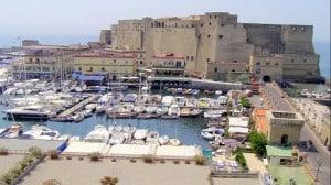 Naples Harbor Castel dell'Ovo