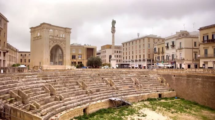 ancient rome theater southern italy puglia