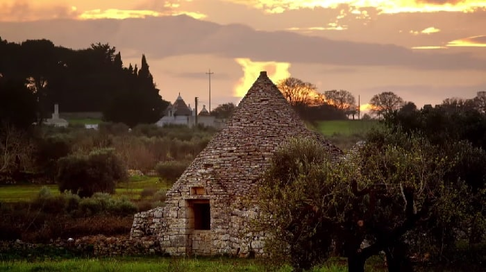 Trulli Valley Sunset