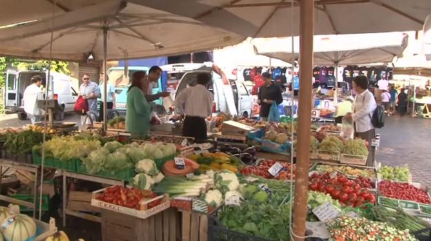 rome market campo de fiori