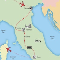 italy-small-group-tour-venice-florence-rome-map-itinerary