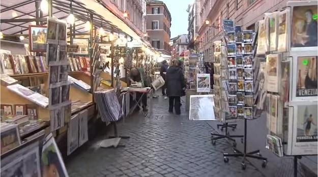 rome piazza market