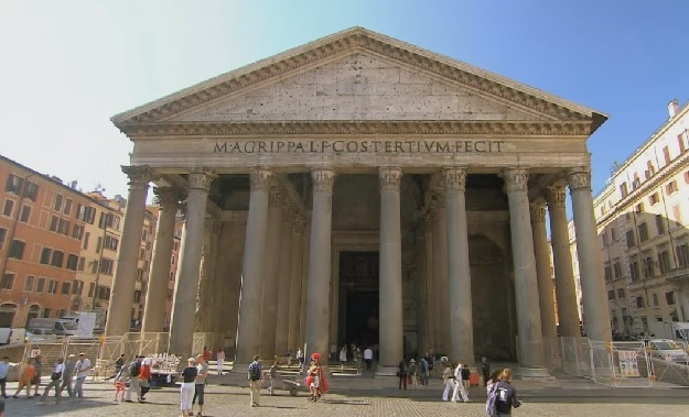 rome pantheon exterior photo