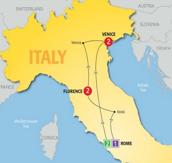 Day Rome Tour Package