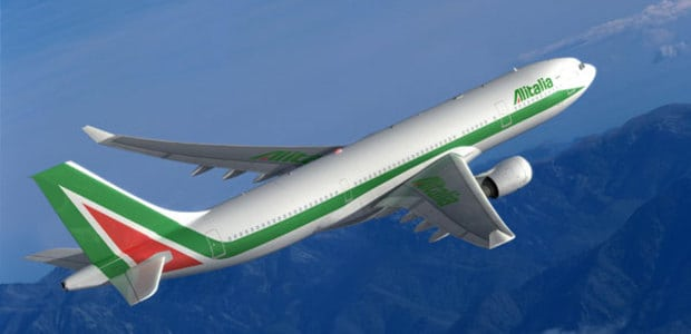 italy airfar deals alitalia plane