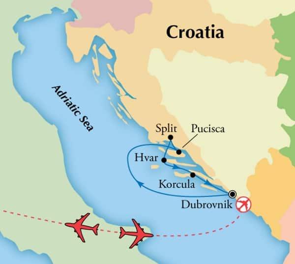 Dalmatian Coast Cruise | All-inclusive Italy Cruise Tour ... on