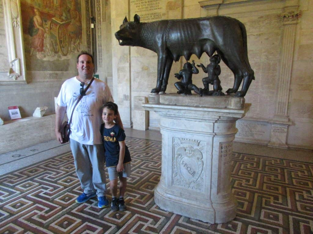 capitoline wolf capitoline museums rome sightseeing highlight