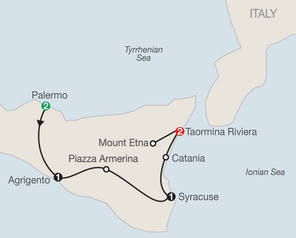 8-day-sicily-tour-one-week-itinerary-map