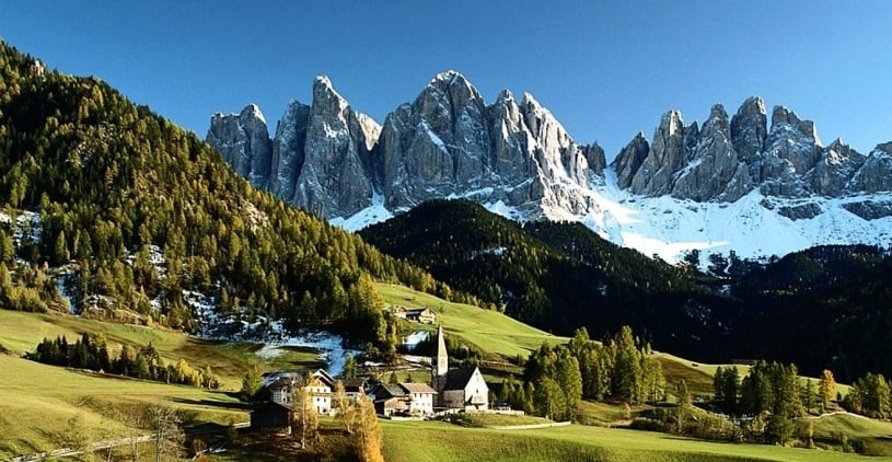 Trentino alto adige sightseeing northern italy vacations for Arredamento trentino alto adige