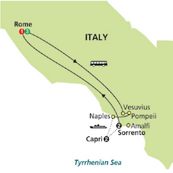rome capri sorrento italiantourism.us ratings