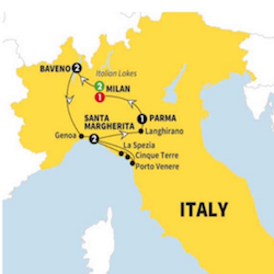 10 day top rater northern italy tour