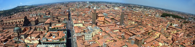 panoramic view bologna