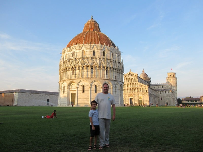 summer italy tour package pisa
