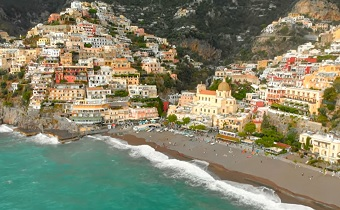 amalfi aerial southern italy travel guide