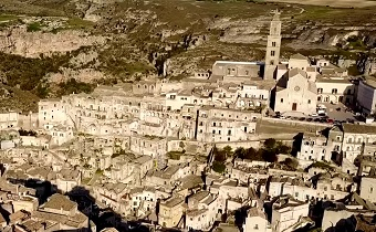 matera aerial southern italy travel guide