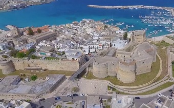 otranto aerial southern italy travel guide