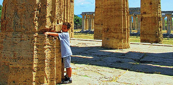 naples day trip paestum greek temples columns